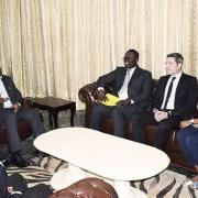 DRC president meets rights group, Kamerhe meets Kaga...