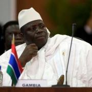 Gambia's parliament extends defeated president's office by 3 months
