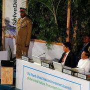 Macron, Kenyatta address UN Environment meeting in K...