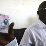 Weah takes lead as less than half of Liberia's elect...