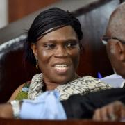 I. Coast's ex-first lady clashes with judge at trial
